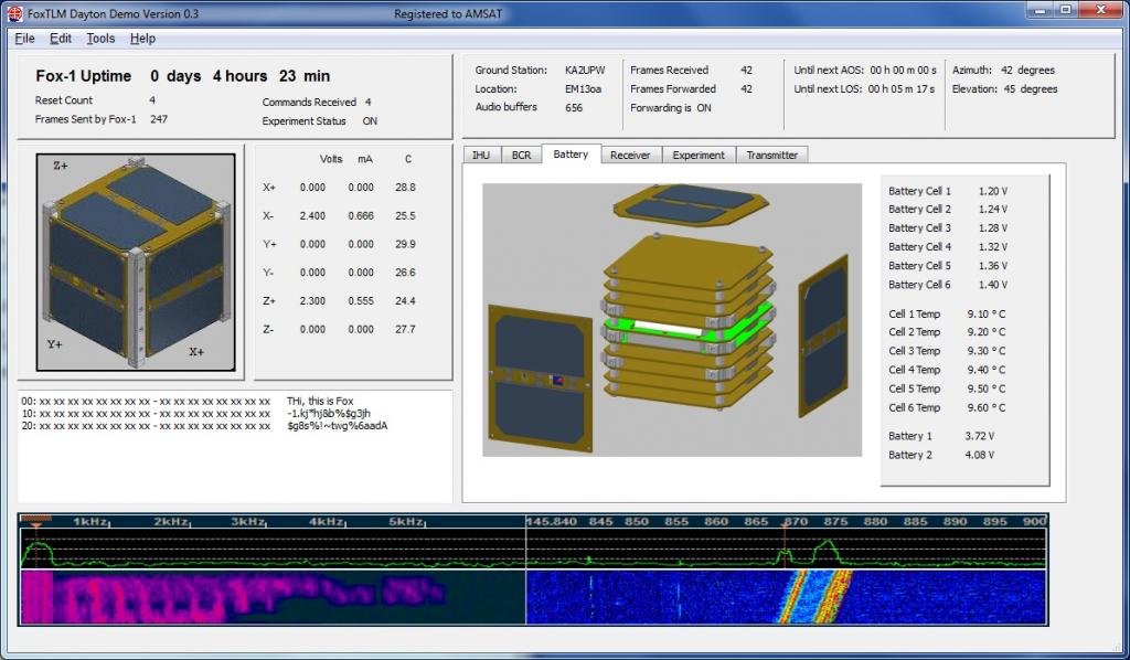 FoxTLM screenshot
