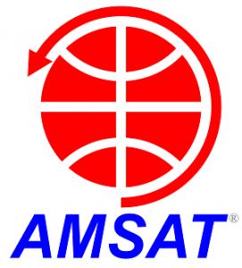AMSAT Logo White Background 300 px