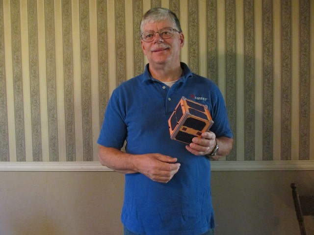 E. Mike McCardel, KC8YLD, new AMSAT-NA VP-Educational Relations
