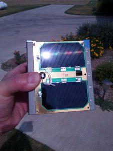 Fox-1 in the Sun