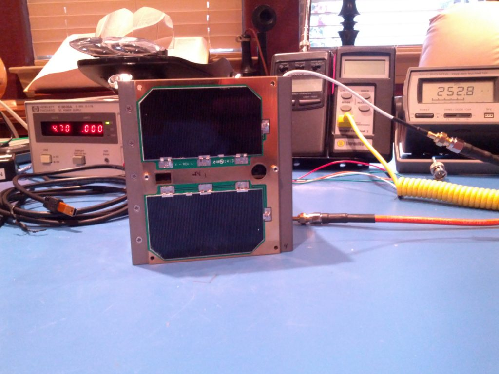 Fox-1 EU transponder on the air