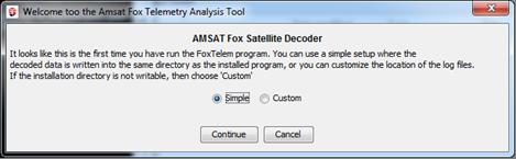 FoxTelem Software for Windows, Mac, & Linux – AMSAT