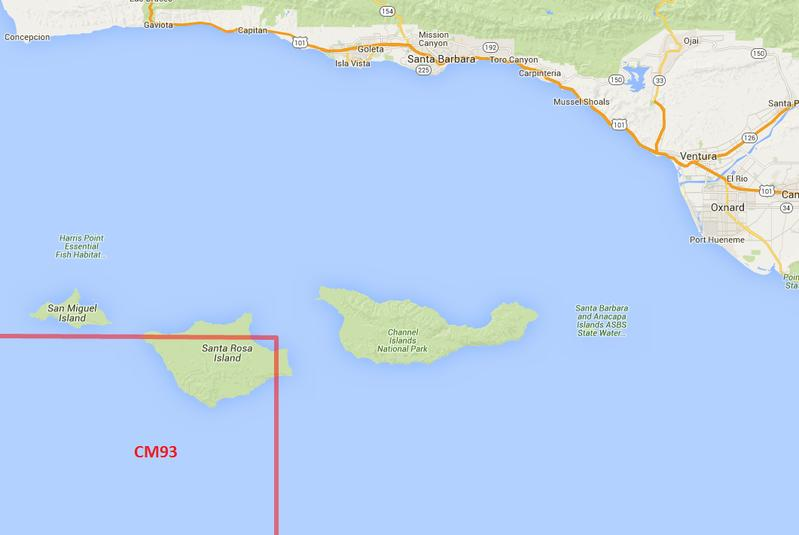 Location of CM93